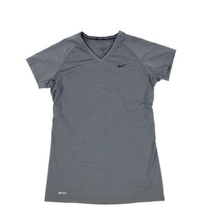 Nike Combat Pro Fitted V-Neck Tee